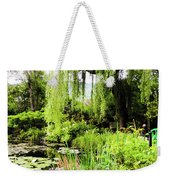 The Lily Pond Trail Weekender Tote Bag