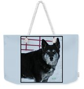 The Magnificent Guardian Of The Gate Weekender Tote Bag