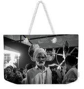 The Many Shades Of Delhi - Turbaned Man Weekender Tote Bag