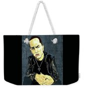 The Marshall Mathers Ap - Eminem Weekender Tote Bag