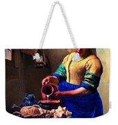 The Milk Maid Weekender Tote Bag