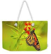 The Monarch Butterfly Weekender Tote Bag