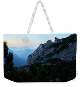 The Mountain Hut Weekender Tote Bag