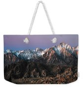 The Mountains Are Calling Weekender Tote Bag