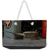 The Old Oil Can Weekender Tote Bag