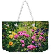 The Painted Garden Weekender Tote Bag