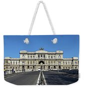 The Palace Of Justice, Rome, Italy Weekender Tote Bag