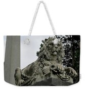 The Patterson Lion Weekender Tote Bag
