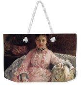 The Pink Dress Also Known As Poop - 1870 - Pc Weekender Tote Bag