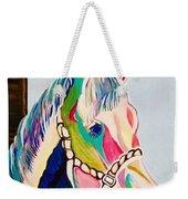 The Pink Horse Weekender Tote Bag