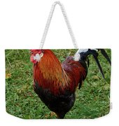 The Pose Of The Rooster Weekender Tote Bag