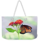 The Queen Of Butterflies  Weekender Tote Bag