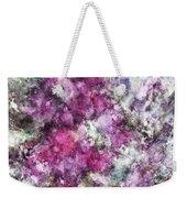 The Quiet Purple Clouds Weekender Tote Bag