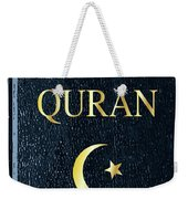 The Quran Weekender Tote Bag