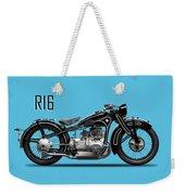The R16 Motorcycle Weekender Tote Bag