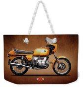 The R90s Motorcycle Weekender Tote Bag