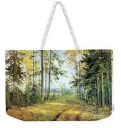 The Road Into The Forest Weekender Tote Bag