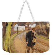 The Road Through The Village Of Ring Weekender Tote Bag
