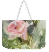 The Rose From A Misty Appalachia Weekender Tote Bag