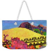 The Sacred Mountain - Digital Remastered Edition Weekender Tote Bag
