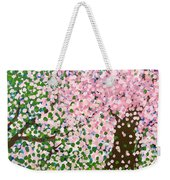 The Scenery Of Spring Weekender Tote Bag