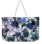 The Silent Blue Decay Weekender Tote Bag