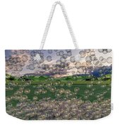 The Simplicity Of Bubbles  Weekender Tote Bag