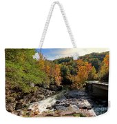 The Sinks On Little River Road In Smoky Mountains National Park Weekender Tote Bag