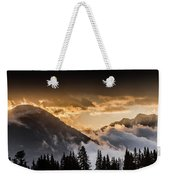 The Sun Is Coming Weekender Tote Bag