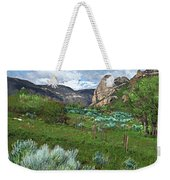The Thimble Rock Weekender Tote Bag