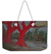 The Three Primary Colors Are The Unchanging Center Of The Stories Weekender Tote Bag
