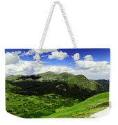 The Top Of Independence Pass Weekender Tote Bag