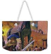 The Trojan Horse Weekender Tote Bag