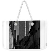 The Twin Towers Of San Gimignano, Italy Poster Weekender Tote Bag
