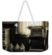 The Typewriter Weekender Tote Bag
