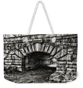 The Underpass Black And White Weekender Tote Bag