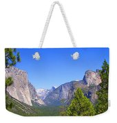 The Valley Of Inspiration-yosemite Weekender Tote Bag