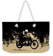 The Vintage Motorcycle Racer Weekender Tote Bag
