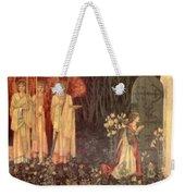 The Vision Of The Holy Grail To Sir Galahad Sir Bors And Sir Perceval Weekender Tote Bag