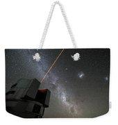 The Vlts Laser Guide Star Weekender Tote Bag