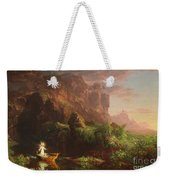 The Voyage Of Life Childhood, 1842 Weekender Tote Bag