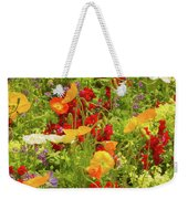The World Laughs In Flowers - Poppies Weekender Tote Bag