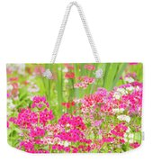 The World Laughs In Flowers - Primula Weekender Tote Bag