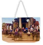 They Come To See Angkor Wat, Siem Reap, Cambodia Weekender Tote Bag