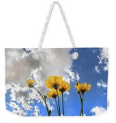 Things Are Looking Up - Wide Format Weekender Tote Bag