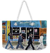 This Is For You Blue Weekender Tote Bag