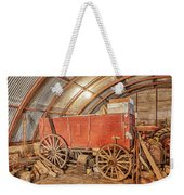 This Old Shed Held A Surprise Weekender Tote Bag
