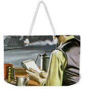 Thomas Edison, The Railway Telegraphist  Weekender Tote Bag