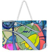 Thought Patterns #2 Weekender Tote Bag