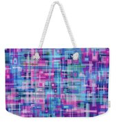 Thought Patterns #4 Weekender Tote Bag